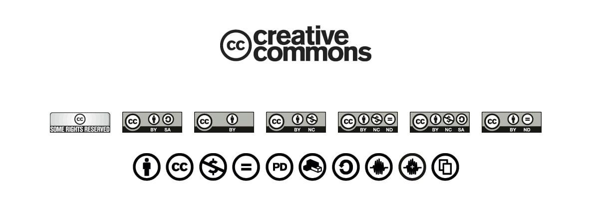 CC ikonları | Mualla Eyüboğlu Portresi | Özgür veya esnek eser lisanslama yöntemleri | Mustafa Turgut