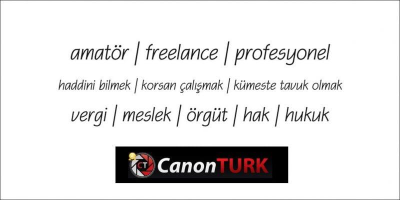 Garabeti Anlamak; Profesyonel kimdir? Amatör kimdir? Freelance kimdir? | Mustafa Turgut
