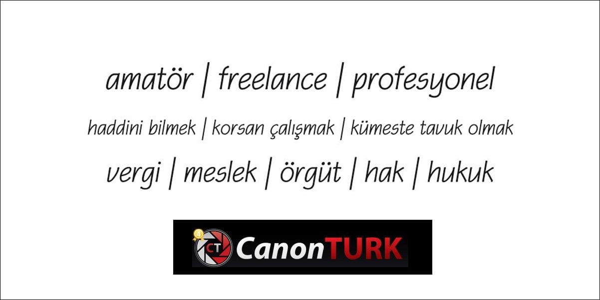 Garabeti Anlamak; Profesyonel kimdir? Amatör kimdir? Freelance kimdir?   Mustafa Turgut