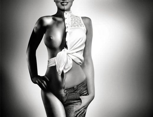 HalfWoman Nr1 Age 22 Fotomodel