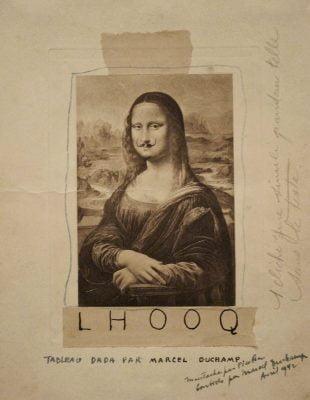 Marcel Duchamp, Monalisa