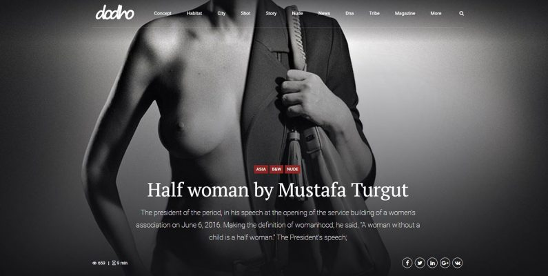 HalfWomen | Mustafa Turgut | Dodho Magazine